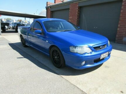 2005 Ford Falcon BA MkII XR6 Blue 4 Speed Auto Seq Sportshift Utility Gilles Plains Port Adelaide Area Preview