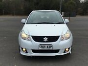 2010 Suzuki SX4 GYC MY10 S White 6 Speed Constant Variable Sedan Mile End South West Torrens Area Preview