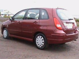 SUZUKI LIANA 1.6 GLX AUTOMATIC RED 1 OWNER,CLICK ON VIDEO LINK TO SEE CAR IN GREATER DETAIL