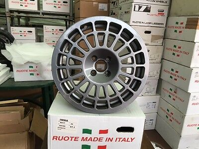 4 ruedas Ruedas adaptable Monte carlo 8x17 Fiat Grande Punto Abarth NO CHINA