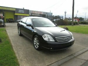 2005 Nissan Maxima J31 TI-L Black 4 Speed Automatic Sedan Epping Whittlesea Area Preview
