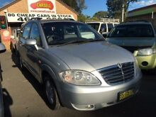 2008 Ssangyong Stavic A100 08 Upgrade 2.7 XDI Silver 5 Speed Manual Wagon Campbelltown Campbelltown Area Preview