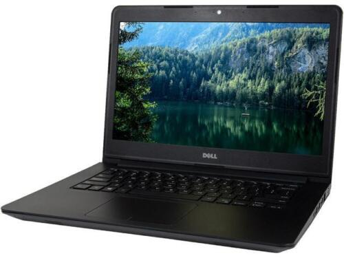 "DELL 3450 14.0"" Laptop Intel Core i5 5th Gen 5300U (2.30 GHz) 500 GB HDD 8 GB Me"