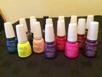 Gel nail polish. Gelaze Gel-n-base in one