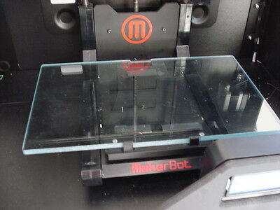 Light Weight Makerbot Replicator 2 Glass Build Plate Upgrade 3d Printer