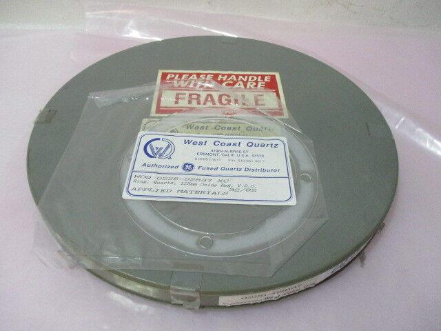 AMAT 0225-02837 Rin, Quartz, 125mm Oxide Reg. V.D.C., 417359