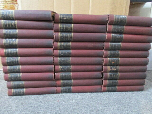 Novels of Balzac Library Edition 1897-1899 30 Volumes
