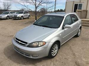 2005 CHEVROLET OPTRA 5 LS - VALID E TEST - 4 CYLINDER - SUNROOF