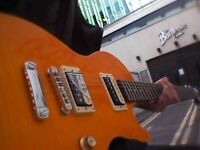EPIPHONE GIBSON LES PAUL SPECIAL II SLASH AFD YELLOW RED NEW