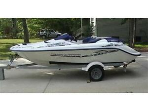 Used 2010 Legend Boats 16 foot fishing boat