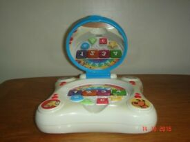 Early Learning Centre Laptop mirror activity toy £4 sorry no offers