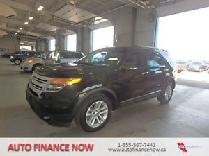2012 Ford Explorer 4WD BLACK ON BLACK LEATHER LODED REDUCED