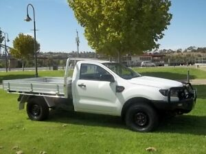 2015 Ford Ranger PX MkII XL White 6 Speed Sports Automatic Cab Chassis Murray Bridge Murray Bridge Area Preview