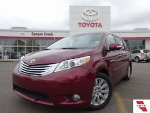 2014 Toyota Sienna LIMITED AWD/ CLEAN CARPROOF/ 1 OWNER/ TOYOTA