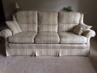 Three Seater Settee - in excellent condition Free to a good home