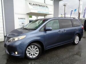 2015 Toyota Sienna XLE AWD, Nav, Leather, Sunroof, 7 Pass.