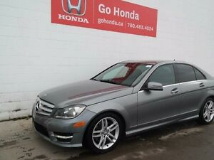2013 Mercedes-Benz C-Class C300, AWD, LEATHER, SUNROOF, ALLOYS