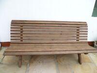 Stylish Large Garden Bench