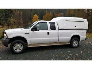 2005 Ford F350 4X4 With CARGOBODY ONLY 142,953 kms!