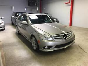 2009 MERCEDES-BENZ C230, 4MATIC, AUTOMATIQUE, TOIT OUVRANT, AIR