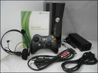 Xbox 360 slim 500GB with kinect and games