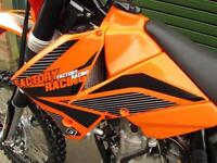 KTM 250 EXCF 2007 ENDURO ROAD REGISTERED ELECTRIC START MX MOTOCROSS BIKE