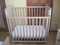 Saplings Space Saver Cot with Mattress - - - £30 - -