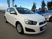 2013 Holden Barina TM MY14 CD White 5 Speed Manual Hatchback Hoppers Crossing Wyndham Area Preview