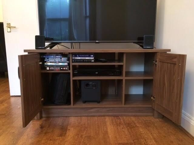 TV stand – large wooden cabinet NEW