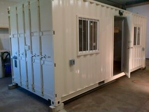 Storage Sea Container Conversions; 20ft 40ft