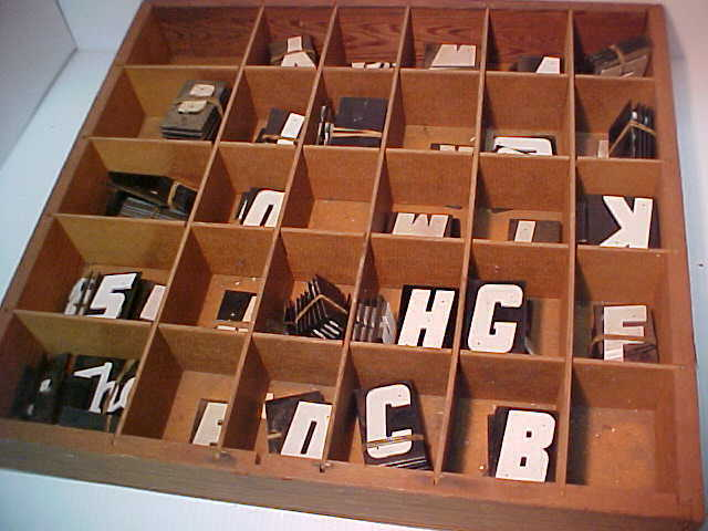 Vintage Mid Century Plastic reflective letters,  numbers Lot of 195