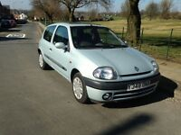 WOW L@@K ONLY £595 RENAULT CLIO ALIZE - M.O.T TILL MAY 2017 - VERY CLEAN INSIDE AND OUT