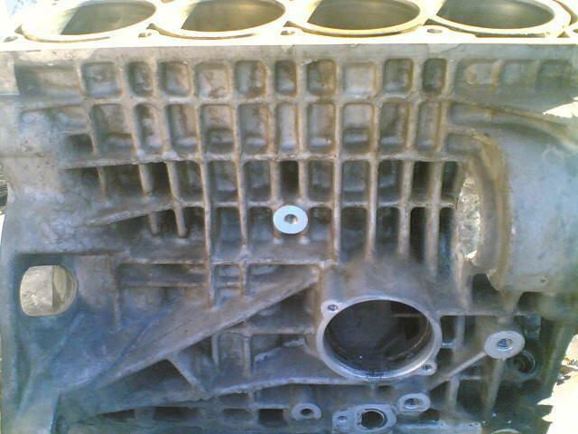 vw polo ''BBY''16 v engine block
