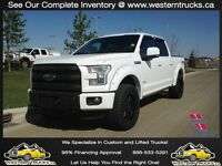 2015 Ford F150 Lariat FX4 Lifted~Rims~Tires~Every Option~Finance