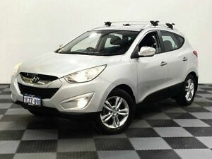 2010 Hyundai ix35 LM Elite AWD Silver 6 Speed Sports Automatic Wagon Edgewater Joondalup Area Preview