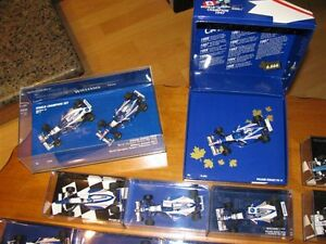 Collection voitures F1 Jacques Villeneuve diecast 1:43