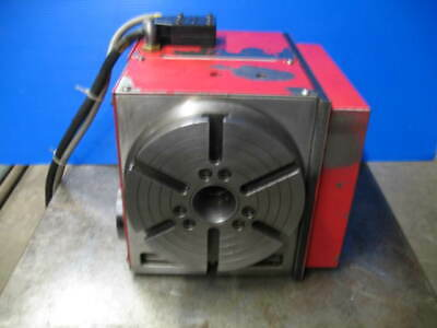 Haas Hrt-210 4th Axis Rotary Table Cnc Mill 17pin Connection Vgc