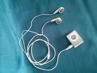 Silver Metal MP3 Shuffle Player