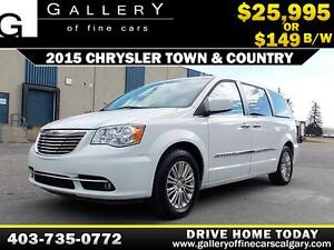 2015 Chrysler Town & Country $149 b/w APPLY NOW DRIVE NOW