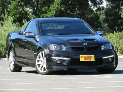 2010 Holden Special Vehicles Maloo E Series 2 GXP Black 6 Speed Manual Utility Blair Athol Port Adelaide Area Preview