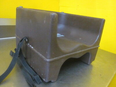 Cambro Brown Plastic Childrens Boosters Seat - Send Best Offer Send Offer