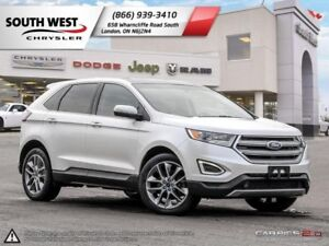 Ford Edge Titanium Leather Dual Pano Roof Comes Wit