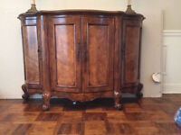 Imported Hutch Great Accent Piece For The Dining Room