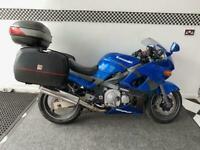 2002 Kawasaki ZZR ZX600 E12H (PANNIERS + TOP BOX) Petrol Manual