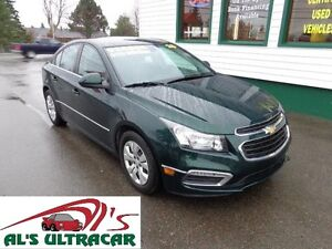 2015 Chevrolet Cruze 1LT for only $125 bi-weekly all in!