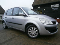 0909 RENAULT SCENIC 1.5dCi TURBO DIESEL 55 MPG AUTHENTIQUE 79K FSH NEW MOT