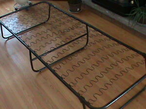 FRAME ONLY for a Folding Camp Cot ... needs mattress