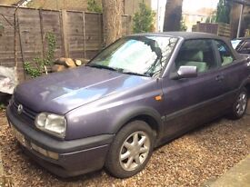 FOR SALE VOLKSWAGEN GOLF CABRIOILET MK3