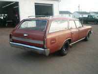 TRADES OK .. 1966 CHEVELLE WAGON BRAND NEW POWER TRAIN