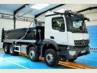 New & Unregistered Mercedes-Benz Arocs 3240 8x4 Tipper, Euro 6,